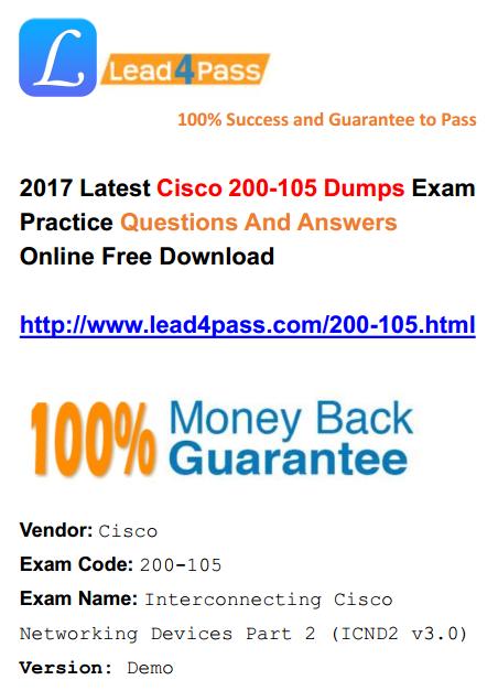 200-105 dumps