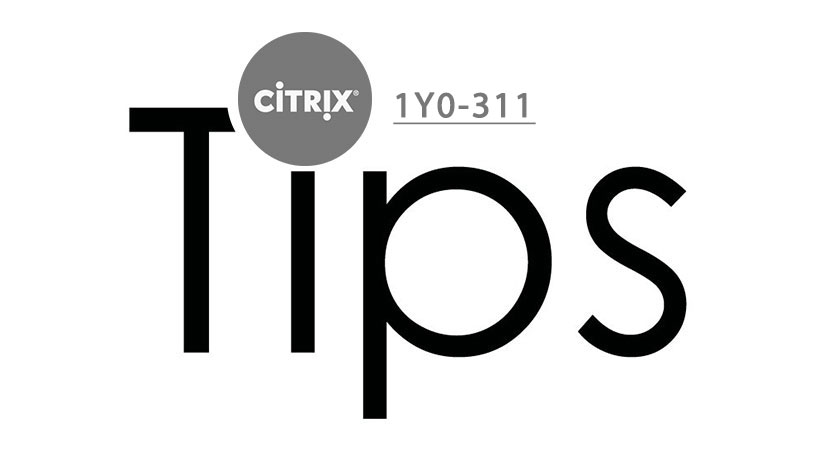 citrix 1y0-311 exam tios