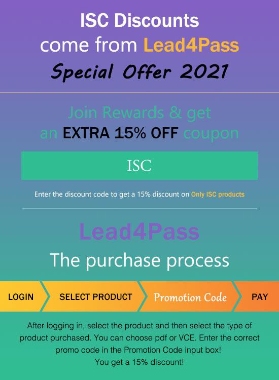 isc discount code
